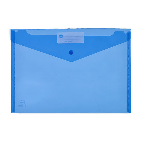 Marbig Doculope Document Wallet A4 Blue