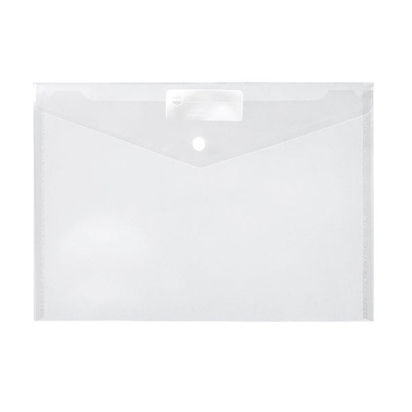 Marbig Doculope Document Wallet A4 Clear