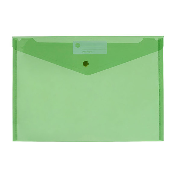 Marbig Doculope Document Wallet A4 Green