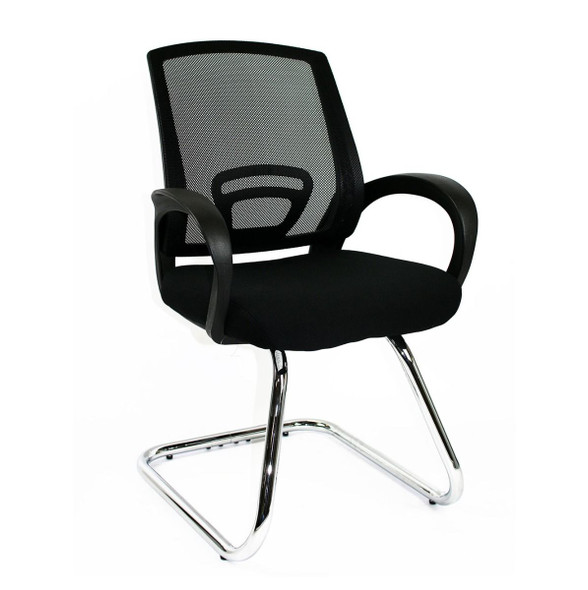 Trice Visitors Chair Black