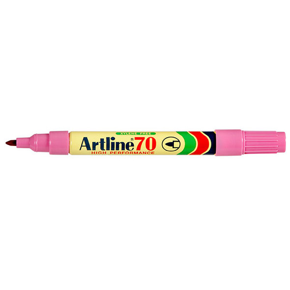 Artline 70 Permanent Marker 1.5mm Bullet Nib Pink