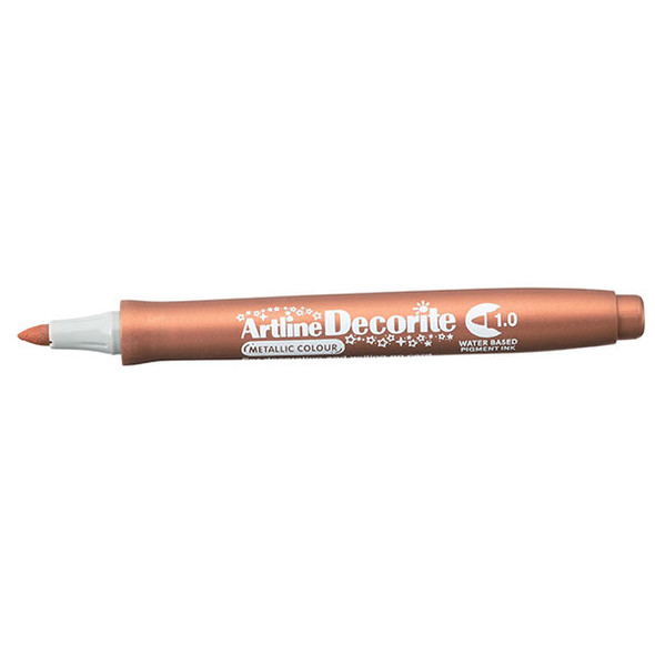 Artline Decorite  Metallic 1.0mm Nib Bronze