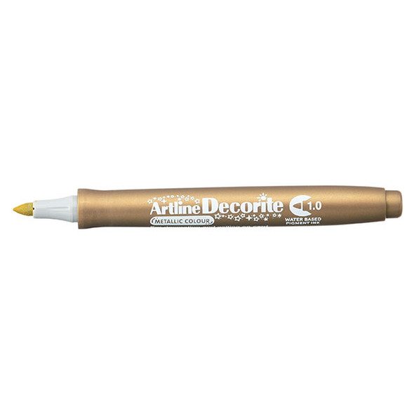 Artline Decorite Metallic 1.0mm Nib Gold