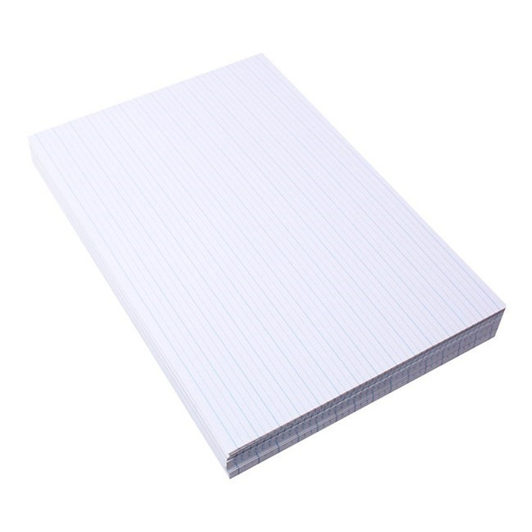 Quill Paper Dotted Thirds 14mm 60gsm A4 Pack 500 White
