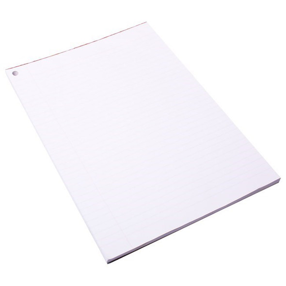 Quill Paper Exam Pad 60GSM A4 90 Sheets White