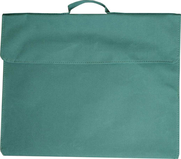Library bag Osmer 370X300mm Polyester 600D Green