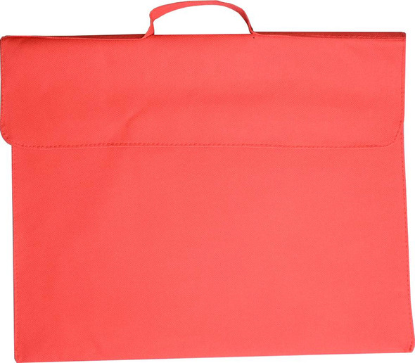 Library bag Osmer 370X300mm Polyester 600D Red