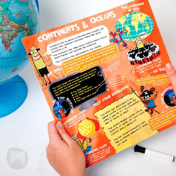 Micador Kids World Globe