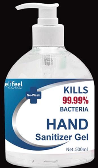 Hand Sanitiser Relifeel500ml Bottle