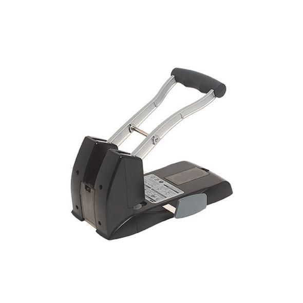Rexel Power Punch 2H 150 Sheet Black / Silver