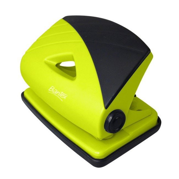 Bantex 2 Hole Punch Fruits 18 Sheets - Lime