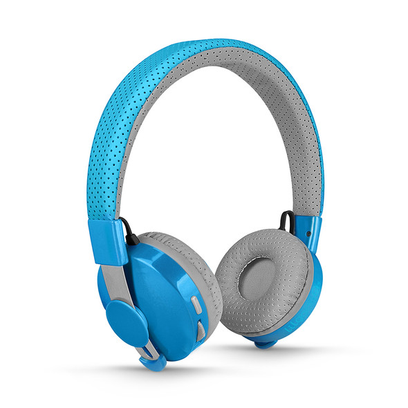 LilGadgets Untangled Pro Children's Wireless Bluetooth Headphones – Blue