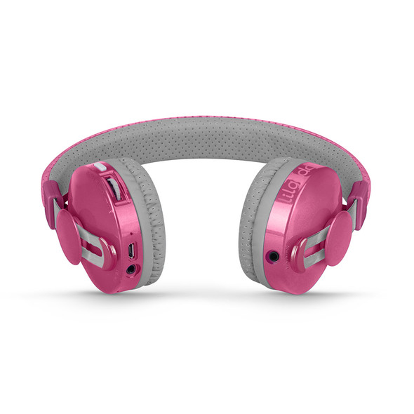 LilGadgets Untangled Pro Children's Wireless Bluetooth Headphones – Pink