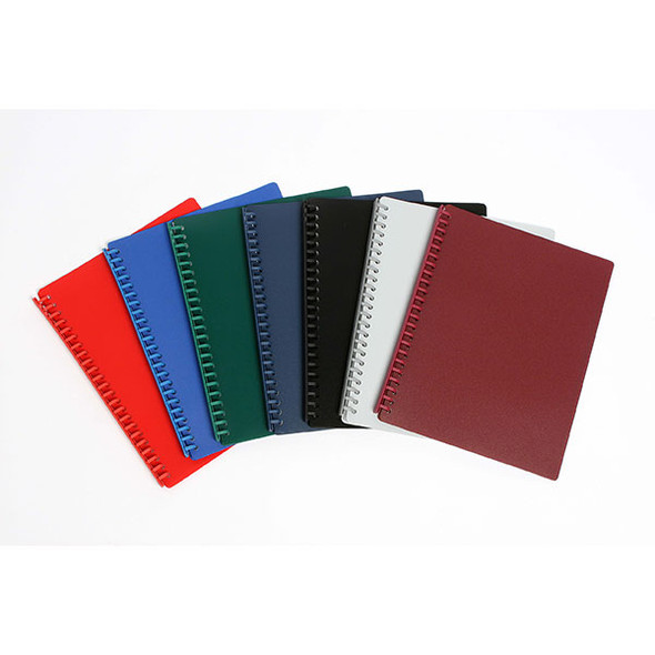 Cumberland Premium Refillable Display Book A4 20 Pocket
