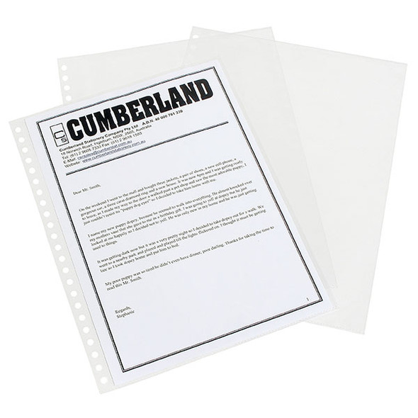 Cumberland Display Book Refills Premium A4 Pack 10