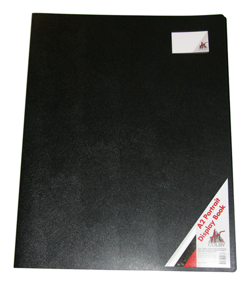 Colby Art A2 Economy 10 Page Display Book Black