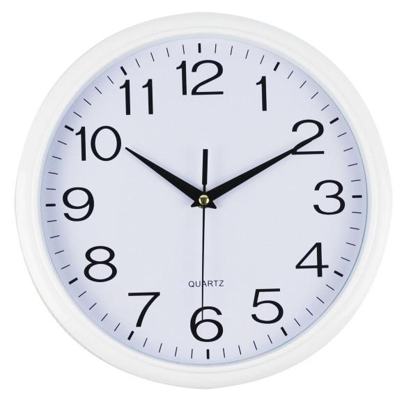 Italplast I398W Clock 34cm Round White