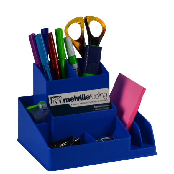 Italplast I35FBB Fruit Desktop Organiser Blueberry