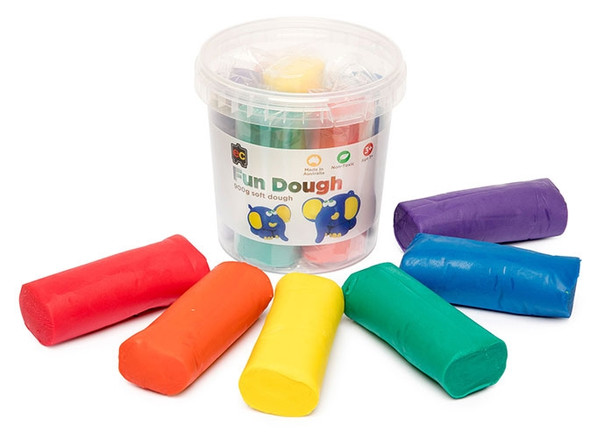 Educational Colours Fun Dough 900g Assorted Colour