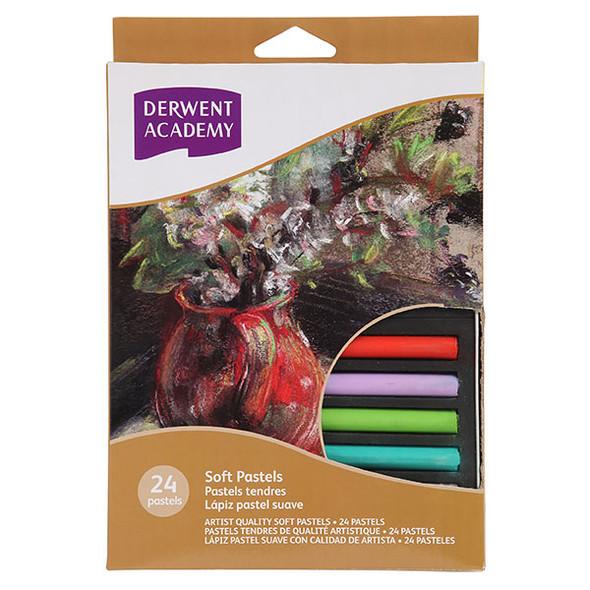 Derwent Academy Soft Pastels 24 Pack