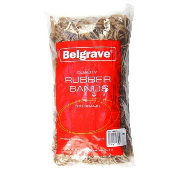 Belgrave Rubber Bands Size 107-500 grams