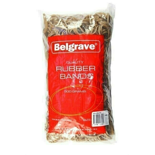 Belgrave Rubber Bands Size 18-500 grams