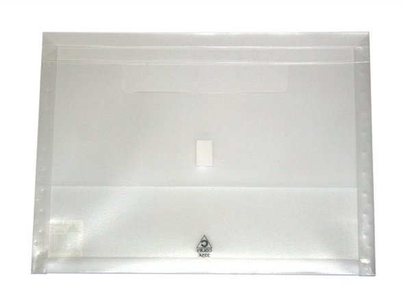 Colby A4 Translucent Polywally Wallet Clear
