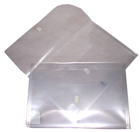 Colby Foolscap Translucent Polywally Wallet Clear