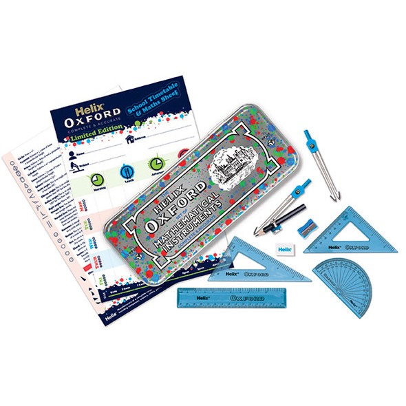 Helix Oxford Math Set Splash