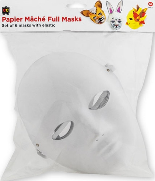 Mache Paper Mask