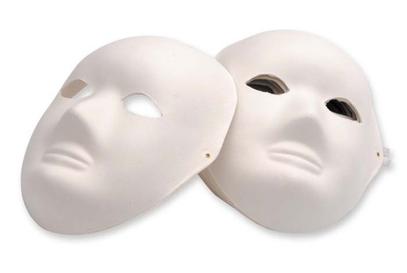 Full Face Mache Mask