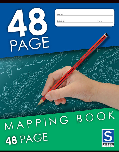 Mapping Book Sovereign 225x175mm 48 Pages Pack 20