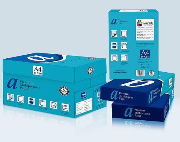 Copy Paper A4 White 80gsm Premium Ream 500