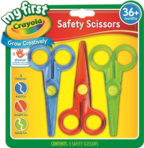 Scissors Crayola My First Safety 3'S
