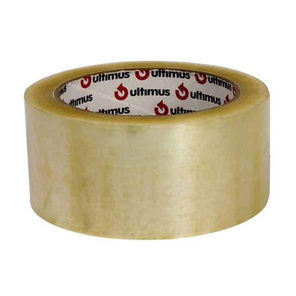 Tape Packaging 48mm x 75m Clear 45um Hot Melt ULTIMUS