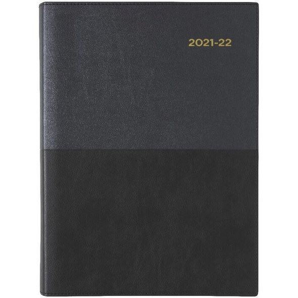 Collins A4 Day to Page FY21/22 Vanessa Diary Black