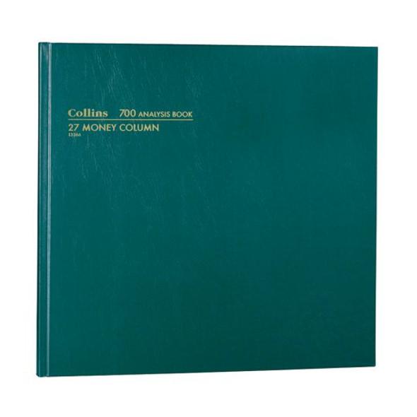Collins Analysis Book '700' Series 27 Money Column