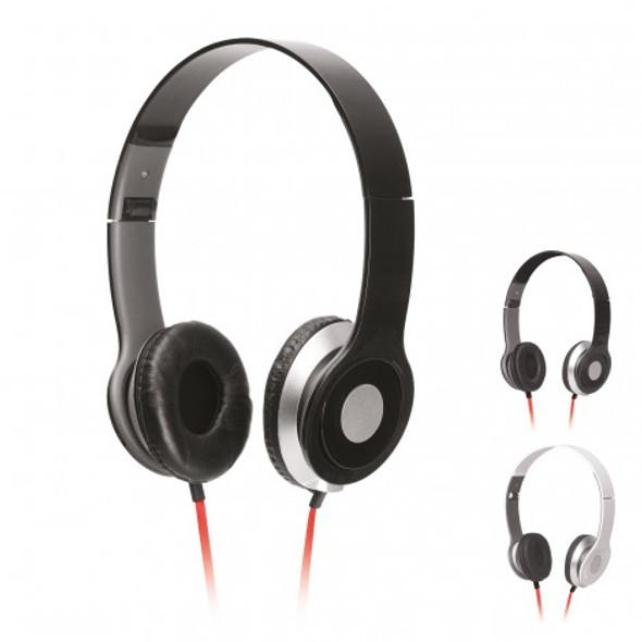 Foldable Headphones With Standard Jack - Black