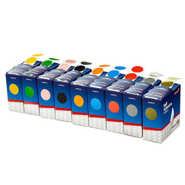 Quickstik Label Dispenser Circle 24mm 500 Labels