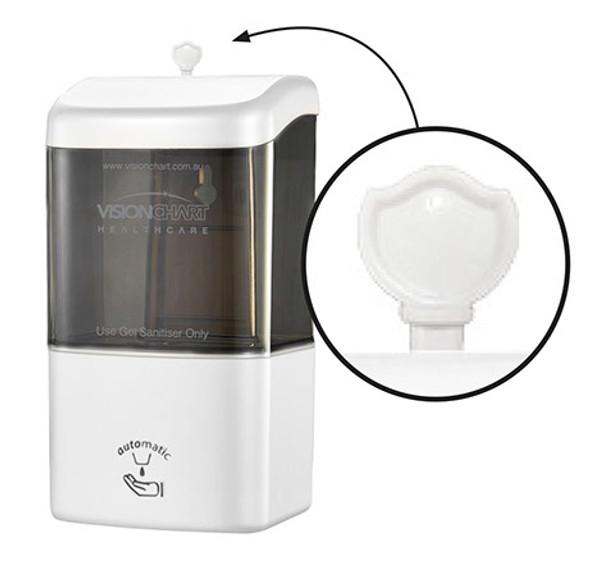 Wall mount sanitiser dispenser