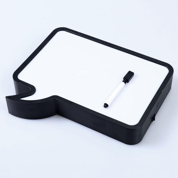 Bubble Light Box Hand Writing - Black/White