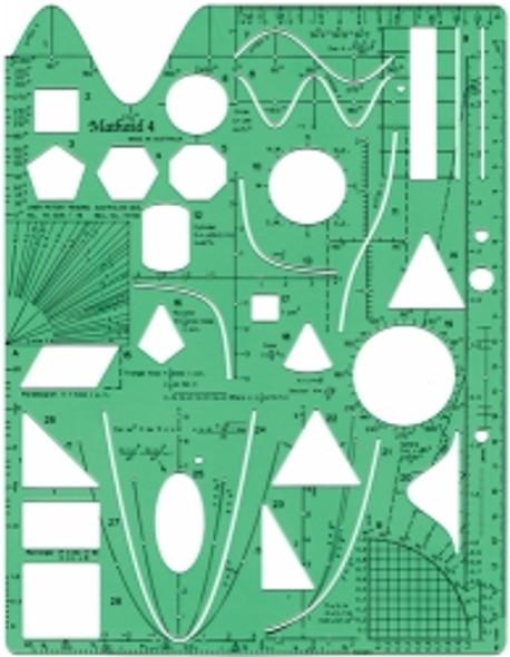 Stencil Template Math-Aid & Proliner Non-Formulae Yrs 9-12