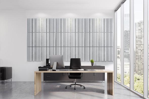 Sana 3D Acoustic Tiles 100 Series - Cloud Pack 9