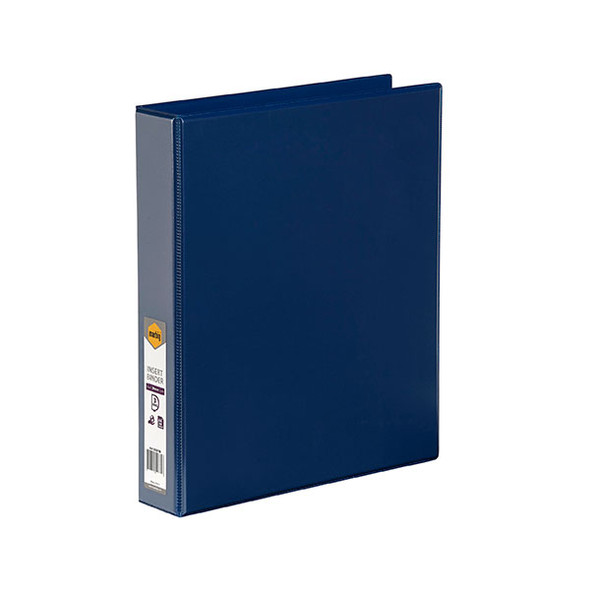 Clearview Insert Binder Blue