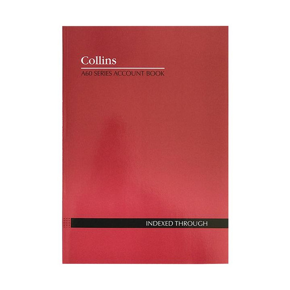 Collins Account Book A60 Indexed
