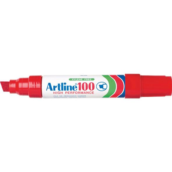 Artline 100 Permanent Marker Red