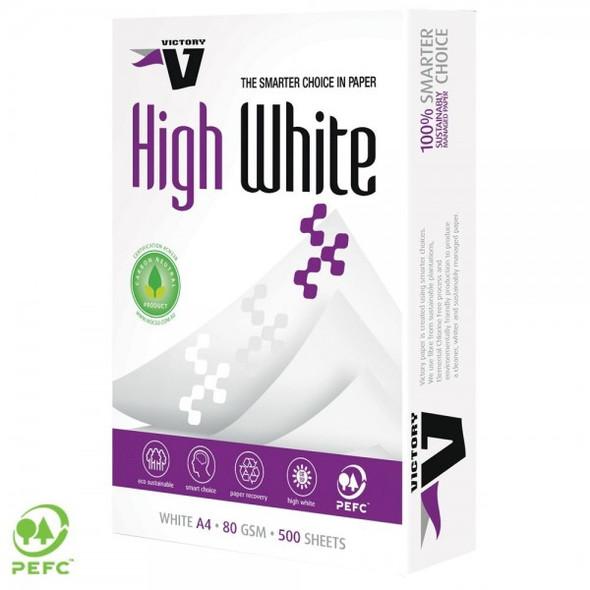 A4 White Copy Paper 80gsm