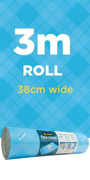 Scotch Flex & Seal Shipping Roll