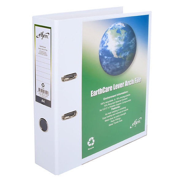 Earthcare Lever Arch File While