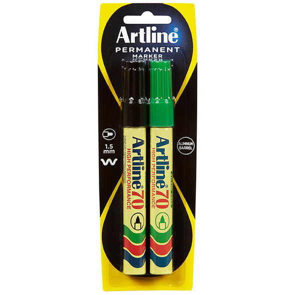 Artline 70 Permanent Markers